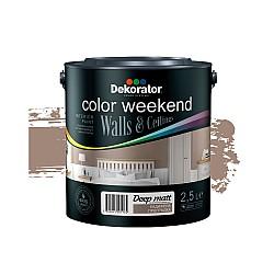 Dekorator Латекс Color Weekend Сатен Teflon® 2.5л - Кадифена прегръдка