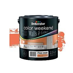 Dekorator Латекс Color Weekend Сатен Teflon® Мароканско слънце