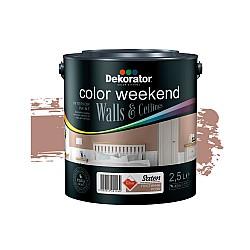 Dekorator Латекс Color Weekend Сатен Teflon® Пустинна роза