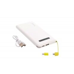 PowerBank Fast charge 10000mAh За Iphone и Android Бял