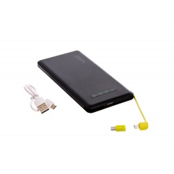 PowerBank Fast charge 10000mAh За Iphone и Android Черен