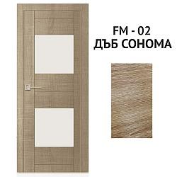 Интериорна Врата FM-02 Дъб сонома