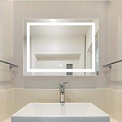 Огледало с LED осветление Amber 45х60см
