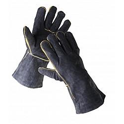 Ръкавици от телешка кожа 40см за заварчици