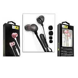 Стерео слушалки M-1088 бяло / златно