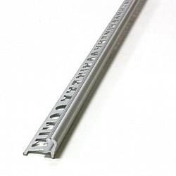 Ал.стъпало Хром мат 12мм - 2,5м