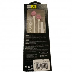 Стерео слушалки модел M-1088 бяло / розово