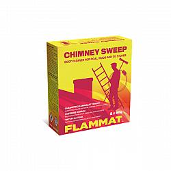 FLAMAT прахчета за почистване на сажди от печки и камини 2х90г