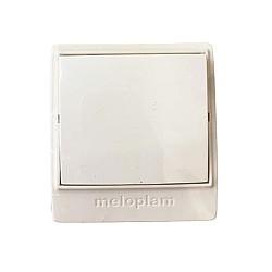 Ключ единичен сx.1 ОМ IP30 - Бял