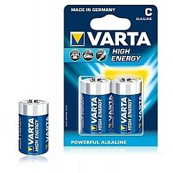 Батерии VARTA HIGT ENERGY АЛК LR 14 C 2бр  59312