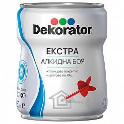 ББА Декоратор Екстра сатен 0.650л бяла RAL9016
