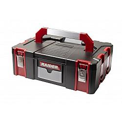 Пластмасов куфар за инструменти с органайзер 44х32х15 RD