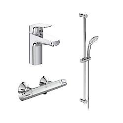 Промо комплект за баня 3 в 1 Ceraflex и Ceratherm T25