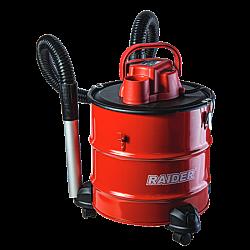 Прахосмукачка за пепел 1000W 18L с колела RD-WC05