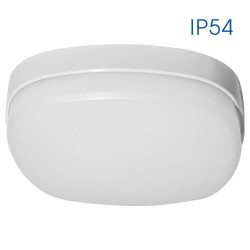 LED плафониера 230V студена светлина IP54 BALI/S LED 16W CL4000K