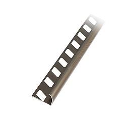 Алуминиев външен ъгъл полиран Бронз 12мм - 2,5м
