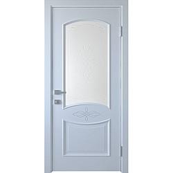 Интериорна врата - Дона - остъклена - бяла