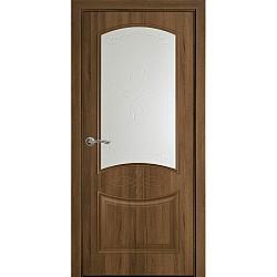 Интериорна врата - Дона - остъклена - златен дъб