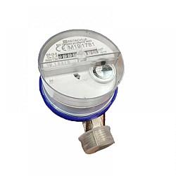"Водомер 2.5 М3 топла вода едностранен ролков 1/2"""