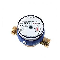 "Водомер 4 М3 сух студeна вода едностранен ролков 3/4"" 100117"