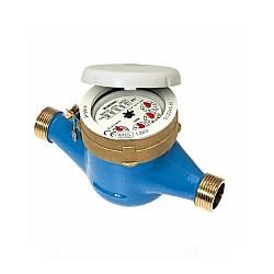 "Водомер 4 М3 мокър студена вода комбиниран 3/4"" ролков+брояч 100113"