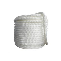 Въже РА плетено 3мм опън 140кг натиск 18кг 8-жично UV и влагозащитено