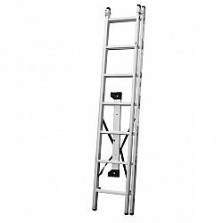 Стълба алуминиева сертифицирана 122 - 2x7 стъпала