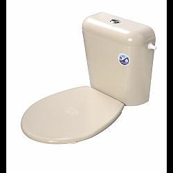 Капак за тоалетна чиния пластм.БЕЖАВ