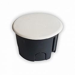 Разклонителна кутия за мазилка ф.80 с капаче