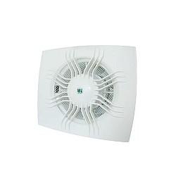 Вентилатор за баня WE 100 квадрат с клапа слънце