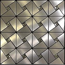 3D Декоративен стикер за стена Блясък 30х30