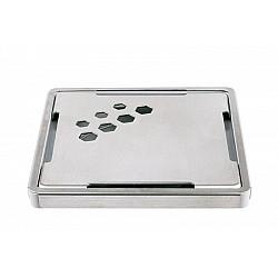 Капачка неръждаема стомана 100/100 мм шестоъгълник1015