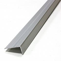 Алуминиева Г-образна лайсна 25/17-2.7м