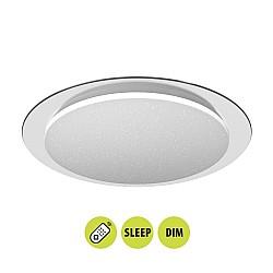 LED  плафон 230V мултифункционален с дист. ATHENA  LED 60W 3000-6400K