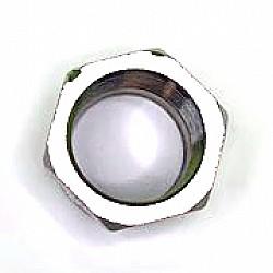 Преходник - пръстен  хром 1/2Fx3/4M