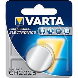 Батерии VARTA ELECTRONICS LITHIUM CR 2025