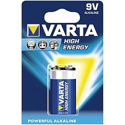 Батерии VARTA HIGH ENERGY АЛК LR 22  9V