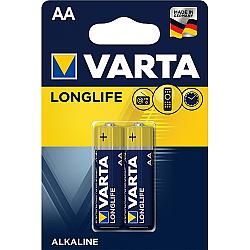 Батерии VARTA LONGLIFE EXTRA алк АА 2бр