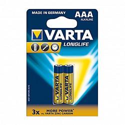 Батерии VARTA LONGLIFE EXTRA алк ААА 2бр