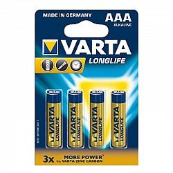 Батерии VARTA LONGLIFE EXTRA алк LR03 AAA 4 бр