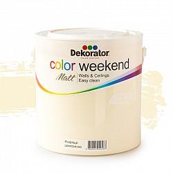 Латекс Color Weekend Искрящо шампанско 2.5л