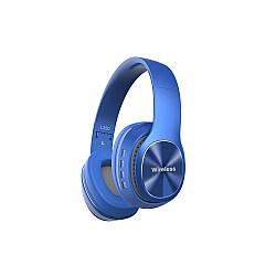 Безжични слушалки с Bluetooth Wireless 5.0 L350 Сини