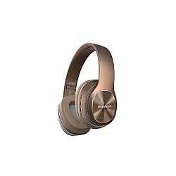 Безжични слушалки с Bluetooth Wireless 5.0 L350 Кафяви