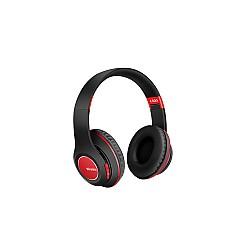 Безжични слушалки с Bluetooth Wireless 5.0 L300 Черни с червено