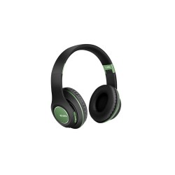 Безжични слушалки с Bluetooth Wireless 5.0 L300 Черно със зелен