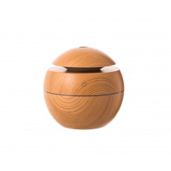 Ултразвуков арома дифузер с етерични масла Цвят Дъб  10х10 см