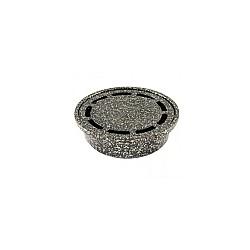 Подов сифон ф50 кръг шагре сребро