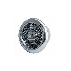 Вентилатор за баня МM 120 кръг с клапа ХРОМ