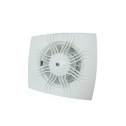 Вентилатор за баня WE 120 квадрат с клапа слънце