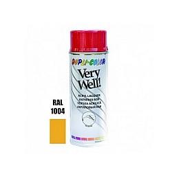 Very Well RAL 1004 наситено жълто гланц 400 ml
